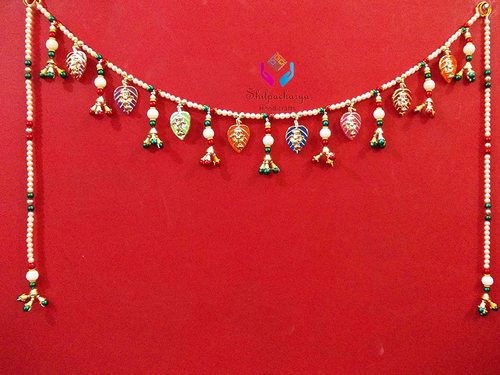 Beautiful Handmade Door Hanging Toran Ganesha Bandarwal