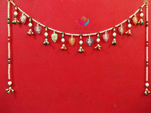 Beautiful Handmade Door Hanging Toran Ganesha Bandarwal