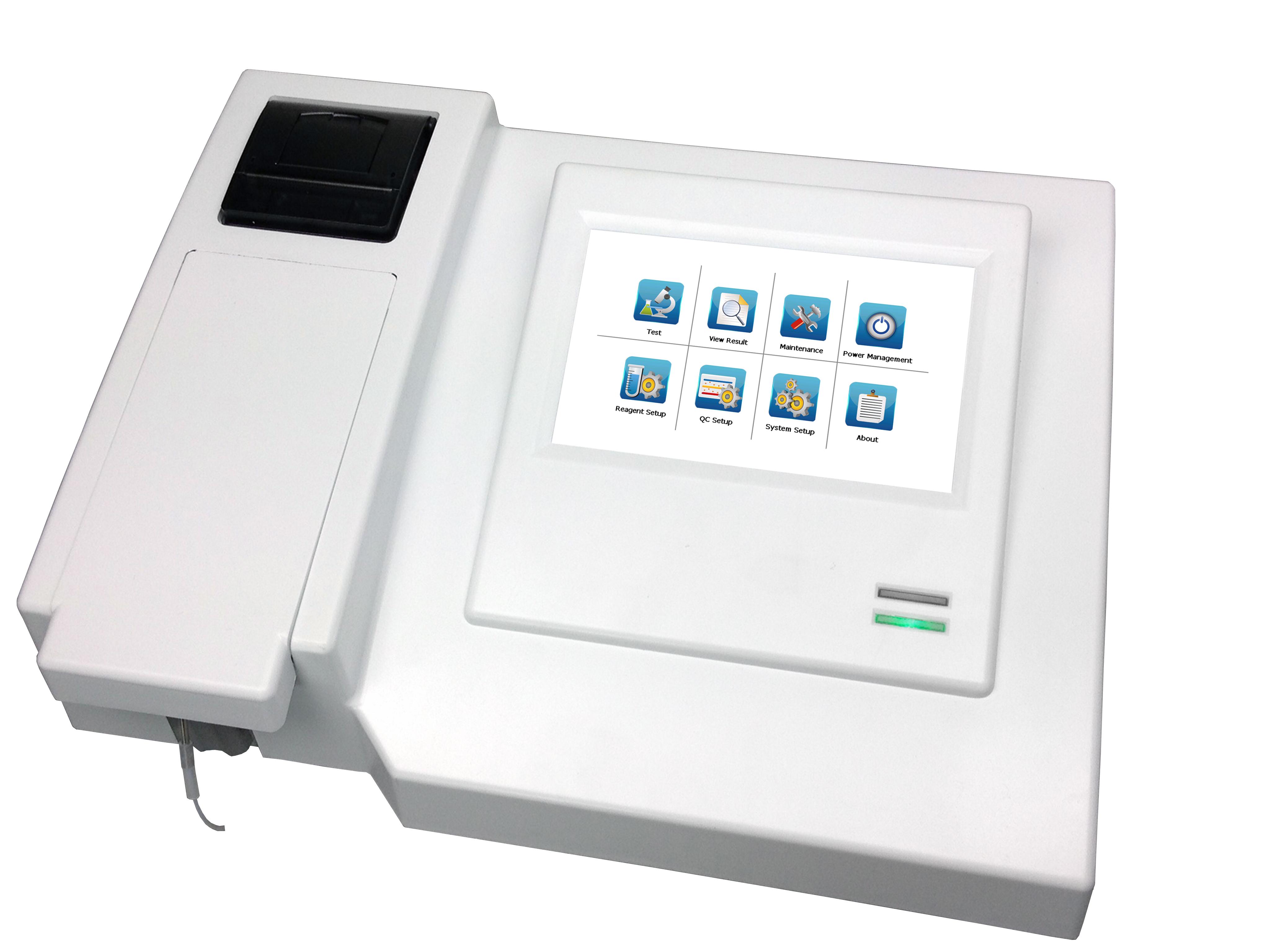 Semi Automatic Biochemistry Analyzer