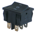 Sub-Miniature Rocker Switches Duble Pole
