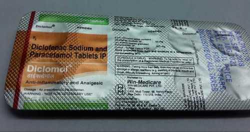 diclofenac sodium paracetamol tablets