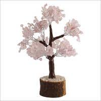 Natural Rose Quartz Tree