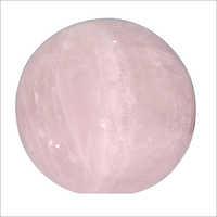 Natural Rose Quartz Ball Shape Paper Weight