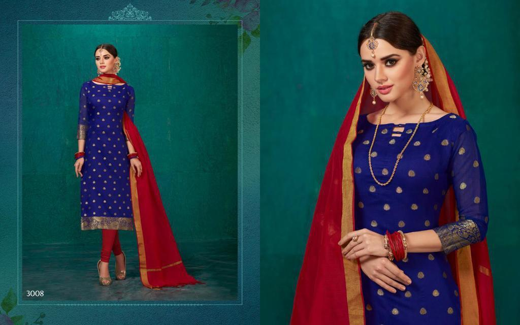 Traditional Banarasi Silk Suits