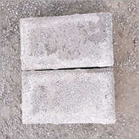 Rough Finish Brick Shape Paver Block