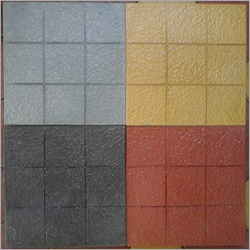 9 Square Glossy Parking Tile