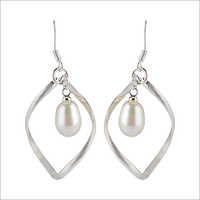 Satyamani pearl Dangler Earring