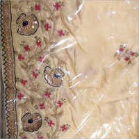 Ladies Embroidered Border  Saree