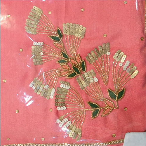 Ladies Zardosi Work Saree