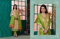 Chanderi Silk Suit