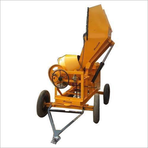 Hydraulic Hopper Mixer Machine