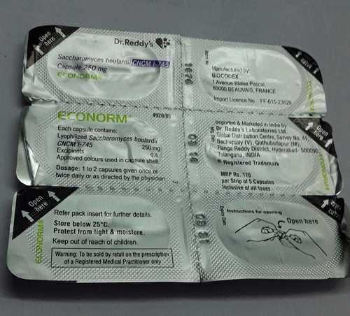 saccharommyces boulardi capsules
