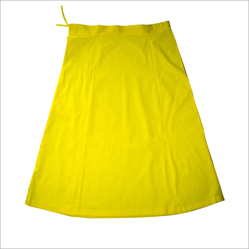 Ladies Yellow Petticoat