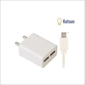 2.2amp fast charger double port micro usb cable
