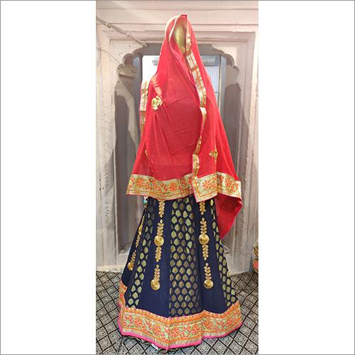 Jaipuri Wedding Lehenga