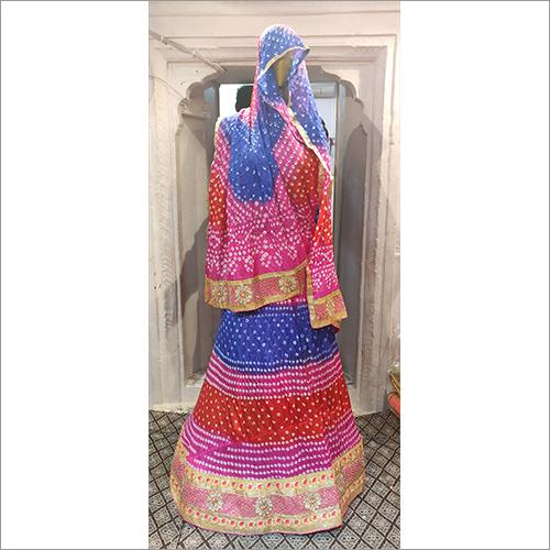 Jaipuri Bridal Lehenga