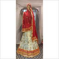 Jaipuri Cotton Lehenga