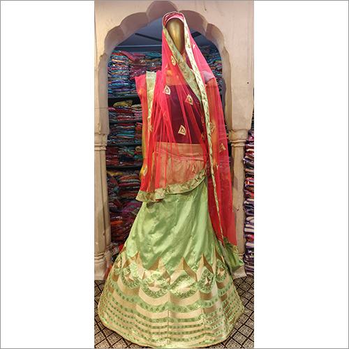 Ladies Brocade Lehenga