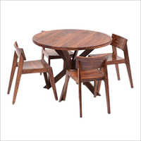 4 Seater Wooden Garden Table