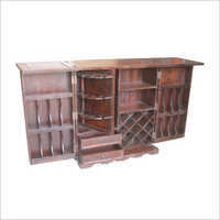 Hardwood Wine Cabinet