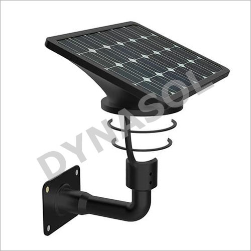 300 Lumens Fully Automatic All-In-One LED Solar Garden Gate Post Light