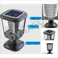 100 Lumens Fully Automatic All-In-One LED Solar Garden Post Light