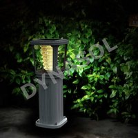 400 Lumens Fully Automatic All-In-One LED Solar Garden Walkway Lawn Light