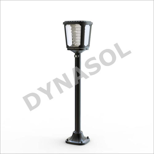 400 Lumens Fully Automatic All-In-One LED Solar Garden Walkway Pole Light