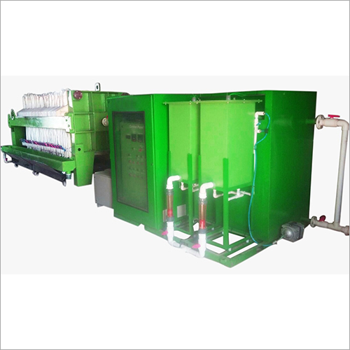 Waterjet Waste Water Treatment