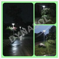 1500 Lumens Fully Automatic All-In-One LED Solar Courtyard/Landscape Light