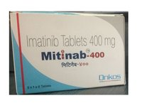Mitinab Imatinib Mesylate 400mg Tablet