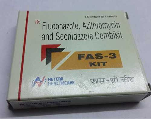 fluconazole azithromycin secidazole combikit