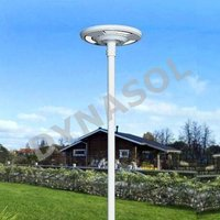 1500 Lumens Fully Automatic Remote Controlled All-In-One LED Solar Courtyard/Landscape Light
