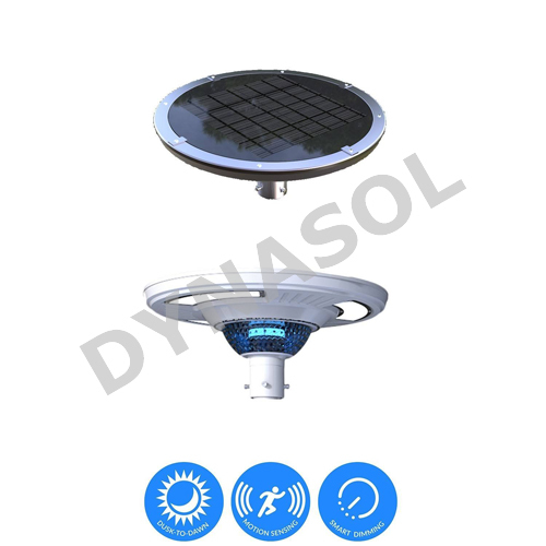 1800 Lumens Fully Automatic Remote Controlled & Colored All-In-One LED Solar Courtyard/Landscape Light
