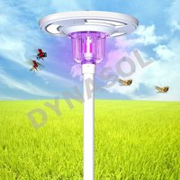 1800 Lumens Fully Automatic Remote Controlled, Colored & Insect Killer All-In-One LED Solar Courtyard/Landscape Light