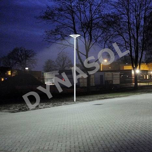 2000 Lumens Fully Automatic Remote Controlled All-In-One LED Solar Courtyard/Landscape Light