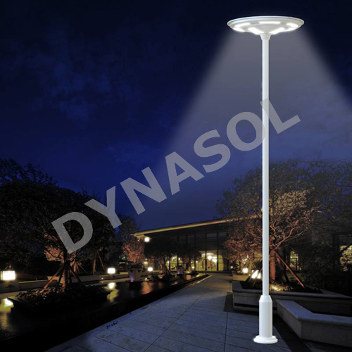 5000 Lumens Fully Automatic Remote Controlled All-In-One LED Solar Courtyard/Landscape Light