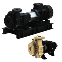 Chemical Process Pumps -  Non Metallic