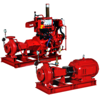 Fire Fighting Pumps – Back pull-out - UL Listed – NFPA 20 Design