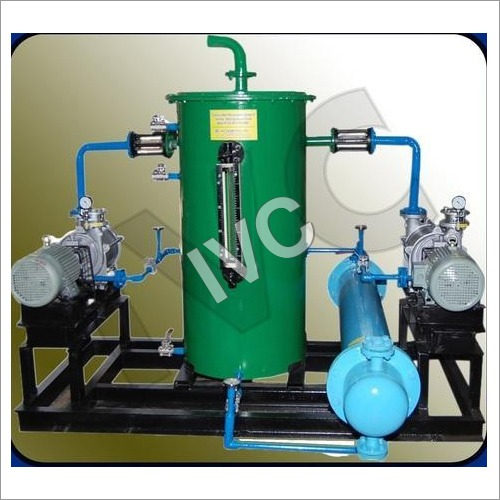 Close Loop Water Re-Circulation System Of Two Stage Vacuum Pump