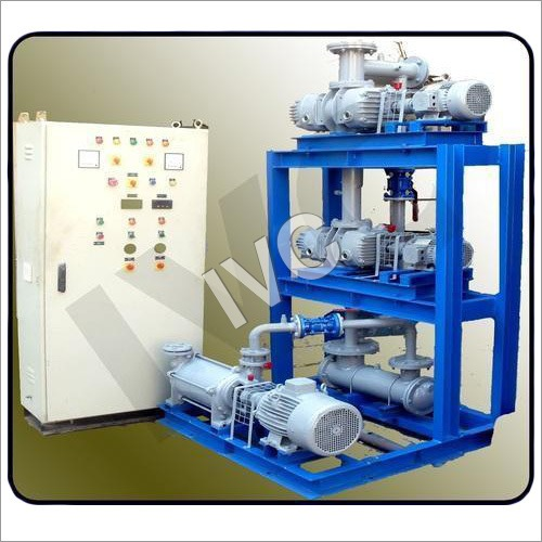 Mechanical Vacuum Booster System
