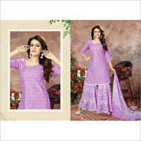 Ladies Designer Sharara Suits