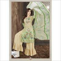 Ladies Designer Printed  Palazzo Suits