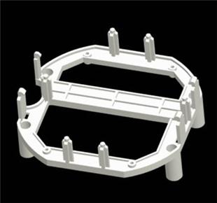 plastic bracket
