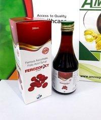 Ferrous Ascorbate,folic acid syrep