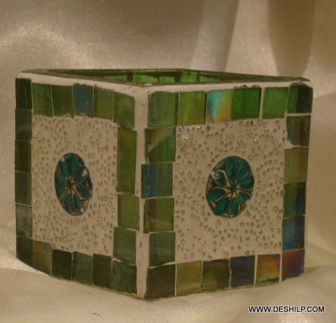 Stylish and Antique-Style Glass Votive Candle Holder