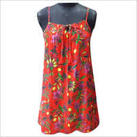 Ladies Sleevless Beachwear Dress