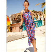 Ladies Fancy Beachwear Dress
