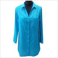 Ladies Long Shirt Beachwear Dress