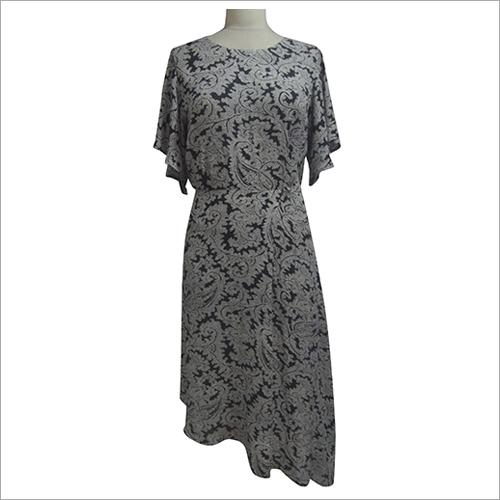 Ladies Printed Maxi Dress